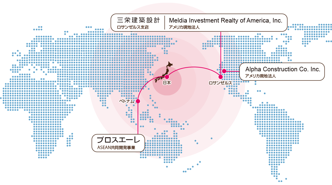 国外拠点マップ